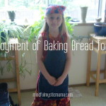 The Enjoyment of Baking Bread Together