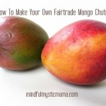How to Make Your Own Fairtrade Mango Chutney