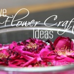Five Flower Craft Ideas